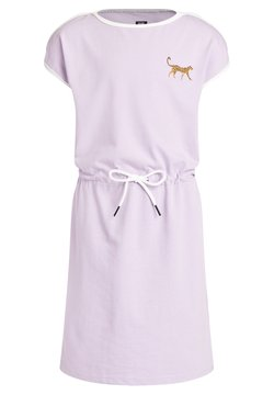 WE Fashion - PANTER EMBROIDERY - Jerseykleid - lilac