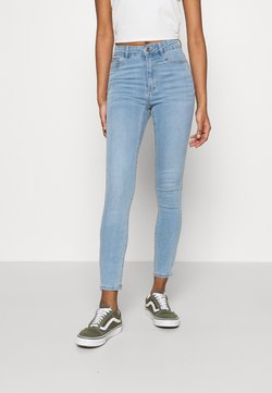 Gina Tricot - MOLLY HIGHWAIST - Jeans Skinny Fit - sky blue