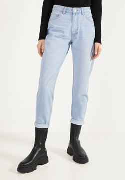 Bershka - MOM - Straight leg jeans - blue denim
