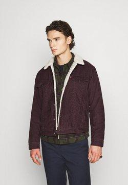 Levi's® - TYPE 3 SHERPA TRUCKER - Veste en jean - bordeaux, dark