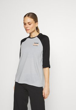 Mons Royale - TARN FREERIDE RAGLAN 3/4 - Funktionsshirt - black/grey