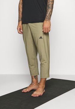 adidas Performance - 7/8 DESIGNED4TRAINING AEROREADY - Pantalones deportivos - orbit green