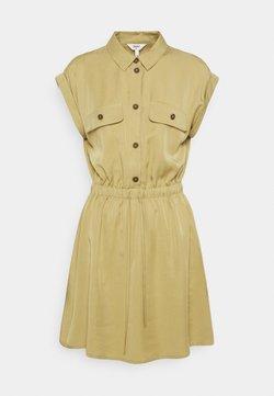 Object Petite - OBJTILDA SHORT DRESS - Vestido camisero - khaki