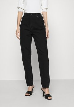 Object - OBJCAROLINE - Jeans Relaxed Fit - black