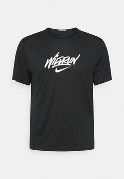 Nike Performance - RISE 365 - T-Shirt print - black