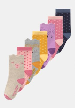 GAP - TODDLER GIRL CRITTER 7 PACK - Calcetines - multi-coloured