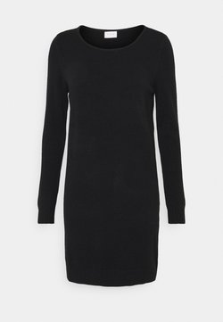 VILA PETITE - VIRIL DRESS - Robe pull - black