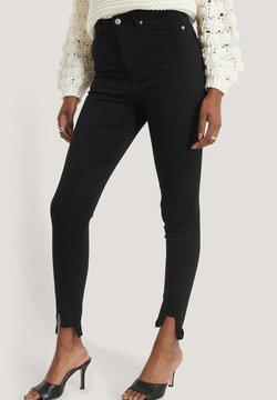 NA-KD - Jeans Skinny - black