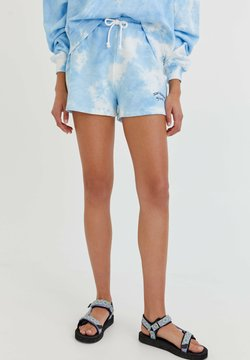 PULL&BEAR - Shorts - light blue