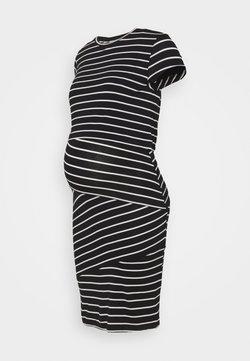 Anna Field MAMA - Nursing Shift dress - Kotelomekko - black/off-white