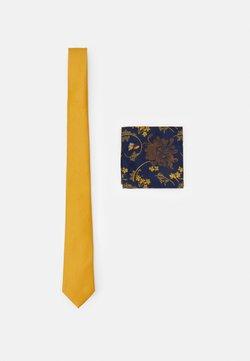 Burton Menswear London - FLORAL SET - Slips - yellow