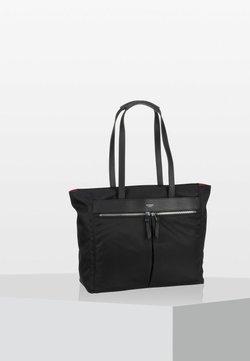 Knomo - MAYFAIR GROSVENOR - Shopping Bag - black/silver