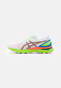 ASICS - GEL-NIMBUS 22 SUMMER LITE SHOW - Zapatillas de running neutras - white/sunrise red