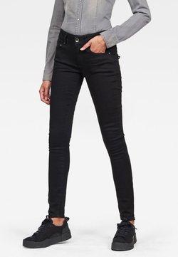 G-Star - MIDGE CODY  - Jeans Skinny Fit - pitch black