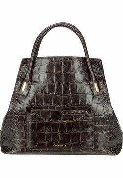 Coccinelle - EVASION CROCO - Shopping Bag - t.moro