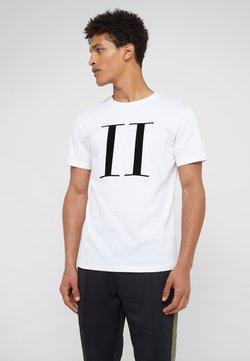Les Deux - ENCORE  - T-shirts med print - white/black