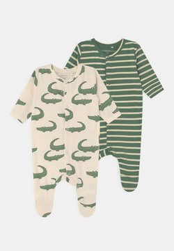 Name it - NBMMARIO 2 PACK - Pijama de bebé - whitecap gray