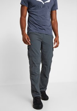 Columbia - SILVER RIDGE CARGO PANT - Pantalones montañeros largos - carbon