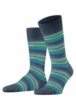 Burlington - DEVON - Socken - dark blue mel.
