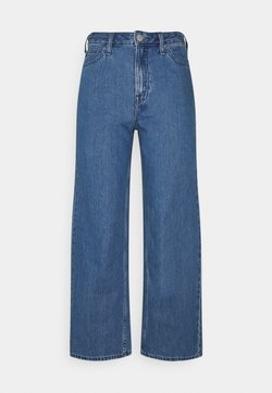 Lee - WIDE LEG - Relaxed fit jeans - mid stone