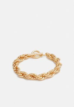 Topshop - TWIST CHAIN T BAR WRISTWEAR - Bracelet - gold-coloured