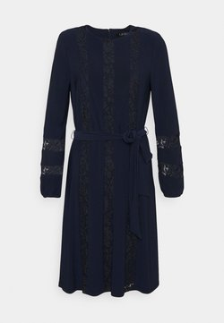 Lauren Ralph Lauren - MID WEIGHT DRESS COMBO - Cocktailkleid/festliches Kleid - lighthouse navy