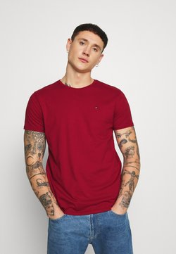 Tommy Jeans - ESSENTIAL SOLID TEE - T-shirt basique - wine red