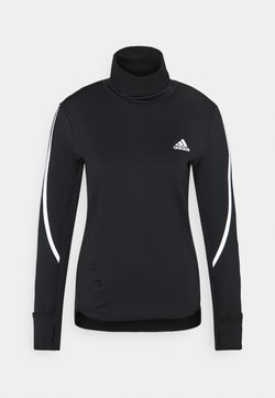adidas Performance - COVER UP  - Maglietta a manica lunga - black