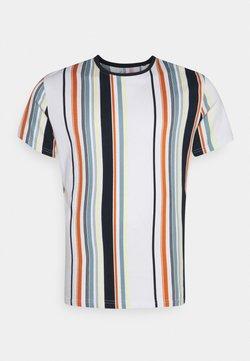 Johnny Bigg - ACTON VERTICAL STRIPE TEE - T-Shirt print - multi-coloured