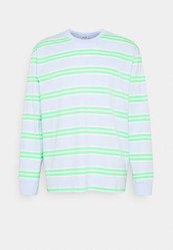 Weekday - HACK LINE LONGSLEEVE UNISEX  - Maglietta a manica lunga - brigth green