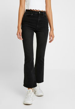 Cotton On - HIGH RISE GRAZER - Flared Jeans - black