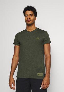 adidas Performance - TECH TEE - Camiseta básica - green