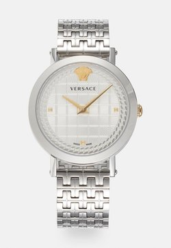 Versace Watches - COIN ICON - Montre - silver-coloured