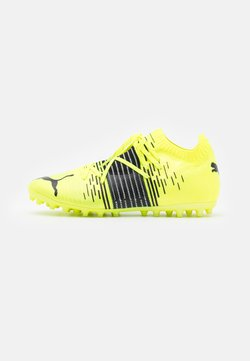 Puma - FUTURE Z 1.1 MG - Moulded stud football boots - yellow alert/black/white