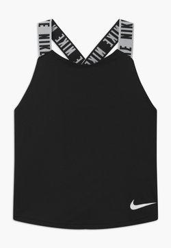 Nike Performance - DRY TANK ELASTIKA - Koszulka sportowa - black/white
