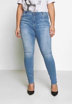 Zizzi - Slim fit jeans - light blue denim