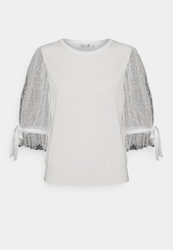 Molly Bracken - LADIES SWEATER - Print T-shirt - white