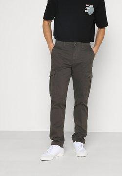 Jack & Jones - JJIROY JJJOE - Cargo trousers - dark grey