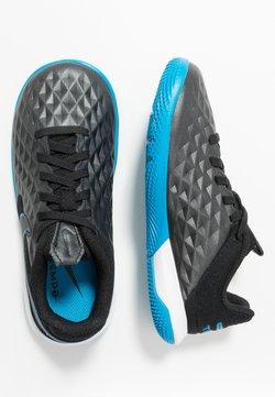 Nike Performance - TIEMPO JR LEGEND 8 ACADEMY IC UNISEX - Halówki - black/blue hero
