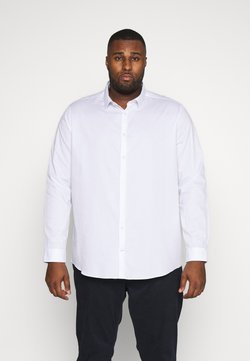 Burton Menswear London - BIG DOBBY STRETCHFOB - Businesshemd - white