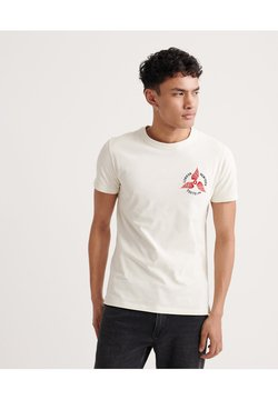 Superdry - GOODS AUTHENTIC  - Print T-shirt - white