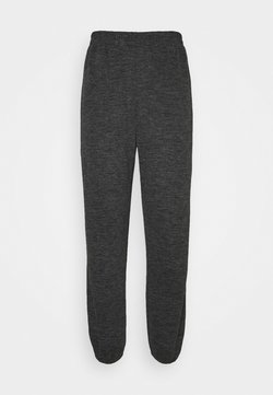 Pieces - PCRELINO PANTS  LOUNGE - Jogginghose - dark grey melange