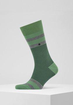 Burlington - STRIPE - Socken - khaki green (7746)