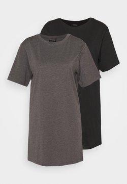 Even&Odd Petite - 2 PACK - Jerseyjurk - black/dark grey