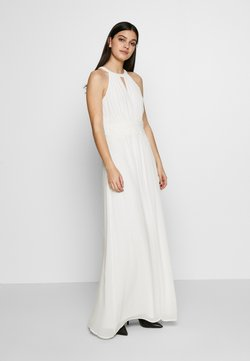 Vila - VIMILINA HALTERNECK MAXI DRESS - Robe de cocktail - cloud dancer