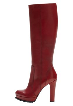 PoiLei - ELVA - High Heel Stiefel - red