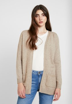 ONLY - ONLLESLY - Strickjacke - beige melange