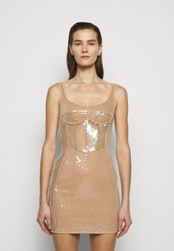 David Koma - Cocktailkleid/festliches Kleid - beige