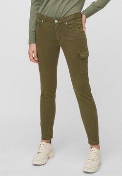 Marc O'Polo - LULEA SLIM MID WAIST  - Jeans Slim Fit - dark green