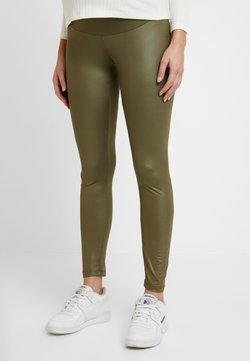 LOVE2WAIT - SHINNY - Leggings - Trousers - khaki